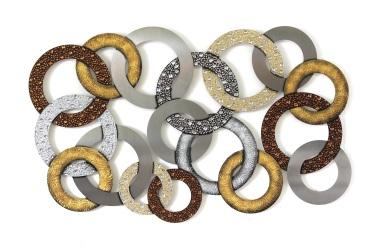edelstahlbild-braune-ringe