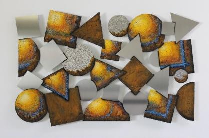Geometrie 110 cm x 70 cm